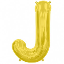 Ballon Lettre J OR