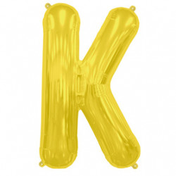Ballon Lettre K OR