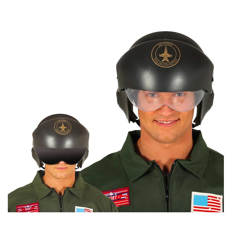 casque pilote top gun