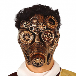 masque steampunk gaz