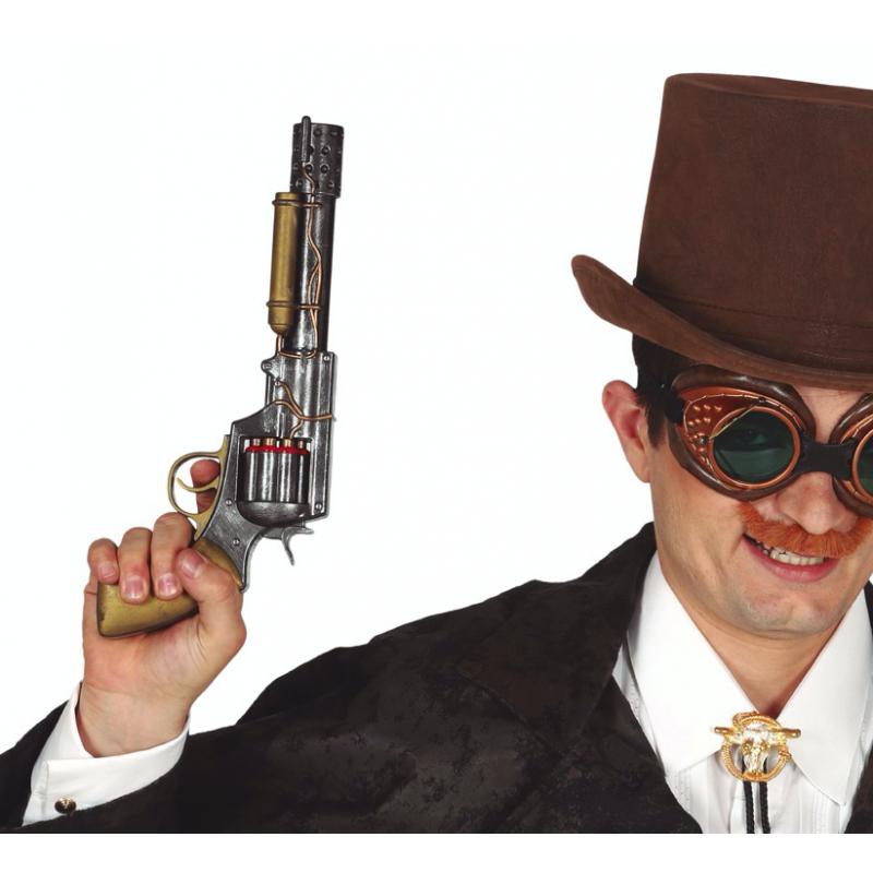 pistolet steampunk