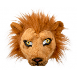 Masque peluche lion
