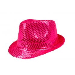 borsalino paillette rose
